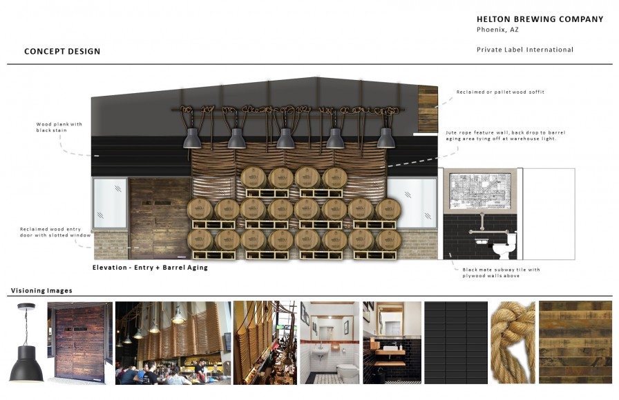 Helton Brewing Tap Room Concept Design Helton Brewing