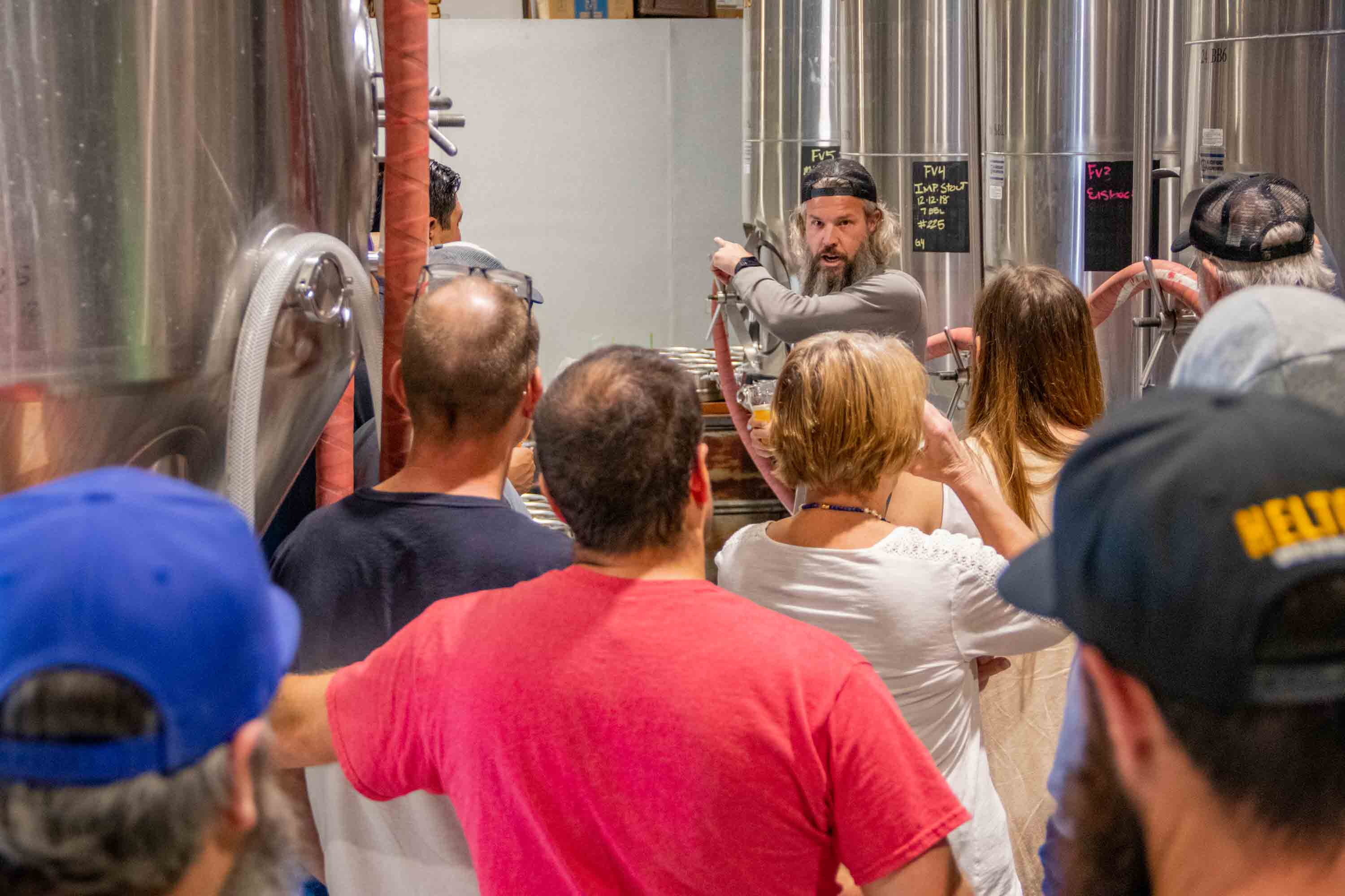 Helton Brewing Company Brewery Tour 8